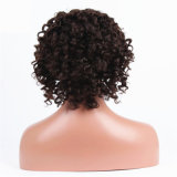 아기 머리를 가진 브라질 사람의 모발 가득 차있는 레이스 가발