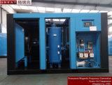Elevado - compressor de ar giratório do parafuso do rotor da baixa pressão dois