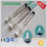 3ml seringa Auto-Destrutiva descartável plástica 3cc