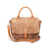 Moda Brown Preppy Style Ladies Cross Body Designer Bag (MBNO041086)