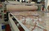 Chaîne de production en pierre de marbre artificielle de moulage par extrusion de profil de PVC