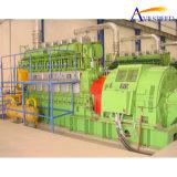 2x1mw/415V HFOの発電所(MSWのリサイクルプラントのために)