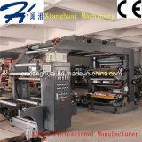 Papier en tissu non tissé Papier en papier Film plastique Machine d'impression haute vitesse