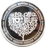 金属の硬貨