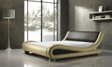 2015 projeto elegante moderno Best-Selling Leather Bed adulto enorme (HCM020)