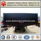 2 de Assen Verwijde Semi Aanhangwagen van Lowboy van het Vervoer van het Graafwerktuig Fuwa