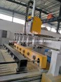 Ranurador multi del CNC de 6 de las pistas 3D 4 ejes de rotación del eje con rotatorio