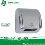 Silver ABS Secador de manos eléctrico Automático de aire caliente Secador automático 2300W