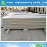 el panel de pared de emparedado del cemento del concreto EPS de 75m m para la pared interior