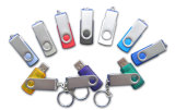 Logo를 가진 다채로운 USB Classic Swivel USB Flash Drive