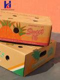 Frutas y hortalizas del cartón corrugado Embalaje Embalaje bandeja de la caja