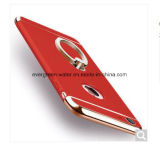 Electrochapar la caja del teléfono con el sostenedor del anillo para el iPhone 6/6s