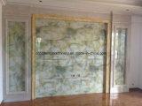 Línea de mármol de imitación de la protuberancia del panel de pared del PVC