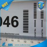 Leegte Sticker/Warranty van de Nietige Sticker van de Verbinding van de veiligheid de Nietige/van de AntiStamper indien Verwijderde Sticker