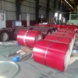 El material PPGI del panel de emparedado prepintó la bobina de acero galvanizada cubierta color