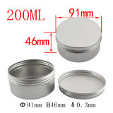 choc 200ml crème cosmétique en aluminium (NAL0107)