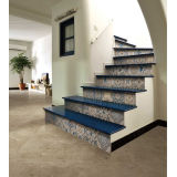 Balcon Rustic Floor Tile, Decorative Material pour Balcony, Measuring 600 x 600mm