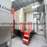 Qualität Customized Powder Spraying Booth für Fast Color Change