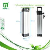 batteria di litio 36V per la bicicletta della lega di alluminio dell'alimentazione elettrica