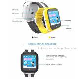 WiFi+Lbs+GPSの位置の熱い販売の多彩なGPSの追跡者の腕時計
