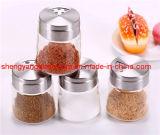 De Fles van de specerij/de Container van de Opslag van het Glas/Keukengerei