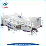 Fünf Funktions-elektrisches Krankenhaus und medizinisches Bett mit Krankenschwester-Controller