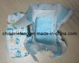 Cloth disponible Baby Diapers en Velcro Tape