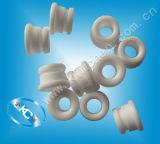 Ojeteador de cerámica Grooved, ojeteador de la guía de la bobina de bobina, ojeteador de la guía de la materia textil