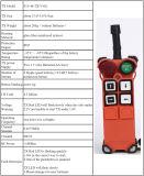 Radio de grue de F21-4s à télécommande, à télécommande sans fil