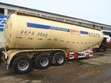 Acoplado a granel seco del carro del polvo del cemento