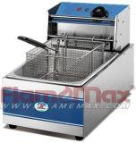 1 friggitrice elettrica del cestino del serbatoio 1 per le patate fritte ed il pollo (tipo economico)