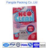 Напечатанный таможней мешок кошачьей еды хорошего цены плоский