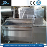 Burbuja industrial de alta presión de pulverización de rodillos de patata cepillo Lavadora