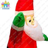 屋内党屋外LED軽いクリスマス膨脹可能なサンタクロース