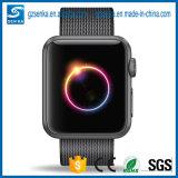 Appleの時計バンドの可変性のマルチカラーAppleのIwatchのナイロン時計バンドのため