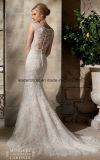 2015 Robes de mariée en dentelle sirène sexy longue robes de mariée Z2009