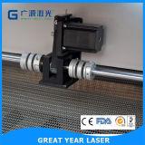 Special manual da máquina do laser do grande ano do cortador para a roupa e o couro