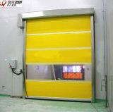 Дверь штарки ролика PVC радиолокатора автоматической двери гаража высокоскоростная