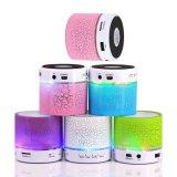 De heetste Spreker Bluetooth van de Muziek van de Hoogste Kwaliteit Mini met de Steun van de Kaart Light/TF van de FM Radio/LED