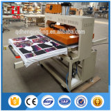 Máquina doble de la prensa del calor del formato grande del sitio de trabajo