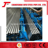 De Lopende band van het Lassen van de Pijp van het staal