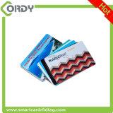 CR80 carte à puce imprimable d'IDENTIFICATION RF estampée par CMYK de PVC 13.56MHz FM11RF08