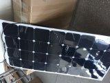 Hoher Leistungsfähigkeit Sunpower 100W halb flexibler Sonnenkollektor für Auto