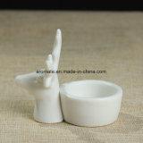 Supporto di candela di ceramica del regalo di natale (CC-14)