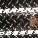 Feuille en aluminium gravée en relief pour l'étage de bus/camion