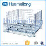Jaula galvanizada del acoplamiento de alambre de la manipulación de materiales del metal