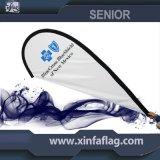 Bandeira de anúncio nova do Teardrop, bandeira de praia, bandeira do Teardrop