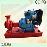 10--bomba de agua de la lucha contra el fuego del oscurecimiento del uno mismo del motor diesel 300kw
