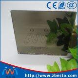 3mm 4mm 5mm 6mm het 8mm Decoratieve Zilveren Blad van de Spiegel van het Aluminium