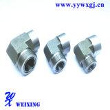 Montaggio di tubo flessibile idraulico di ingegneria di Caterpiller dell'accoppiamento rapido maschio del macchinario